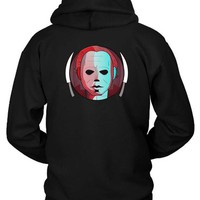 DCCKL83 Horror Michael Myers Hoodie Two Sided
