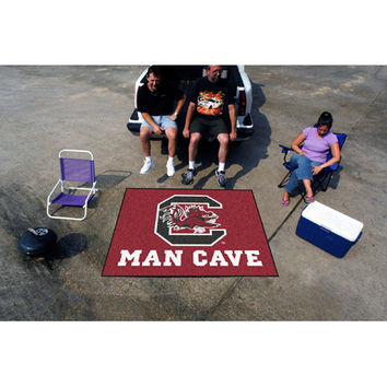 South Carolina Gamecocks NCAA Man Cave Tailgater Floor Mat (60in x 72in)