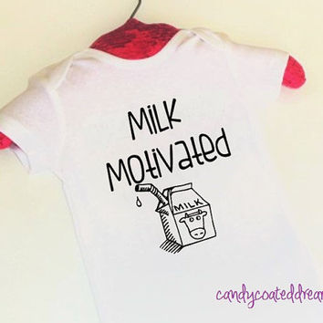 T-shirtor Onesuit U Pick Color funny baby toddler shirts bodysuit cute sayings trendy kids milk motivated edgy