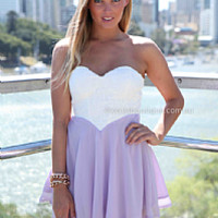 THE PERFECT FAMILY 2.0 DRESS , DRESSES, TOPS, BOTTOMS, JACKETS & JUMPERS, ACCESSORIES, 50% OFF , PRE ORDER, NEW ARRIVALS, PLAYSUIT, COLOUR, GIFT VOUCHER,,CUT OUT,BACKLESS,Purple,STRAPLESS Australia, Queensland, Brisbane