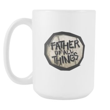 Father of All Things Funny Pun White 15oz Mug