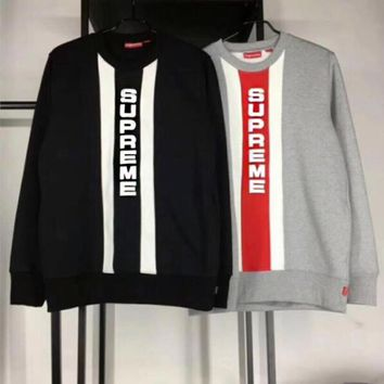Supreme Fashion Top Sweater Pullover Sweatshirt I