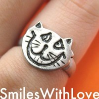 Alice in Wonderland Cheshire Cat Animal Ring - in size 5 and 6