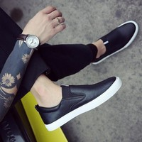 2017 white men casual loafers shoes size 7,8,9