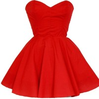 Red Vintage Inspired Prom Dress | Style Icon`s Closet