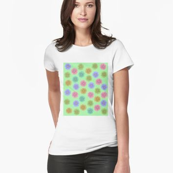 'Flower Bouquet' T-shirt by VibrantVibe