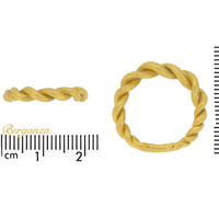 Museum quality Viking gold twisted ring, circa 9th-11th century AD.