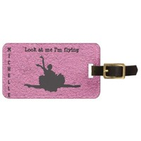 Look at me I'm flying! Luggage Tag