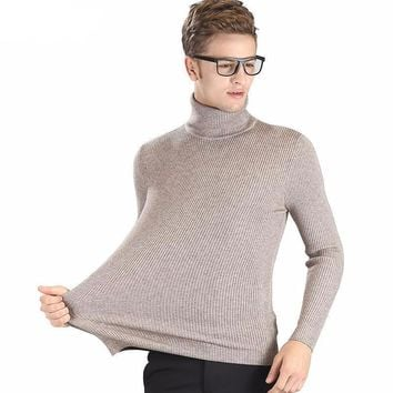 High-grade Turtleneck Sweater for Men