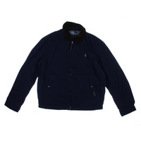 Polo Ralph Lauren Mens Fleece Lined Cotton Fleece Jacket