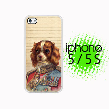 Kingly Spaniel Fancy lad  iPhone 5S Case | iPhone 5 Hard Case For iPhone 5  Plastic or Rubber Trim