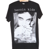 """""""Dying Young Is In Fashion"""" T-Shirt - Heroin Kids Online Store"""