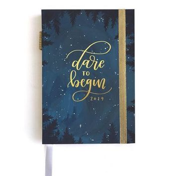 2019 Weekly Planner - Starry Night by 1Canoe2