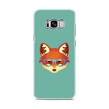 Fox With Glasses Samsung Galaxy S8 | Galaxy S8 Plus case