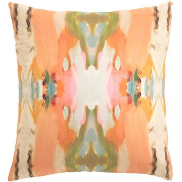 Psychedelia Sunset Decorative Pillow