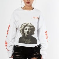 Marilyn Cropped Crew