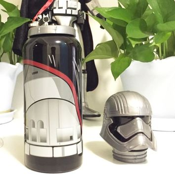 Star Wars Force Episode 1 2 3 4 5 304 Stainless Steel insulated Thermos Bottle Straight Cup  mug/sports Thermal vaccum water bottle 500ml Christmas Gift AT_72_6