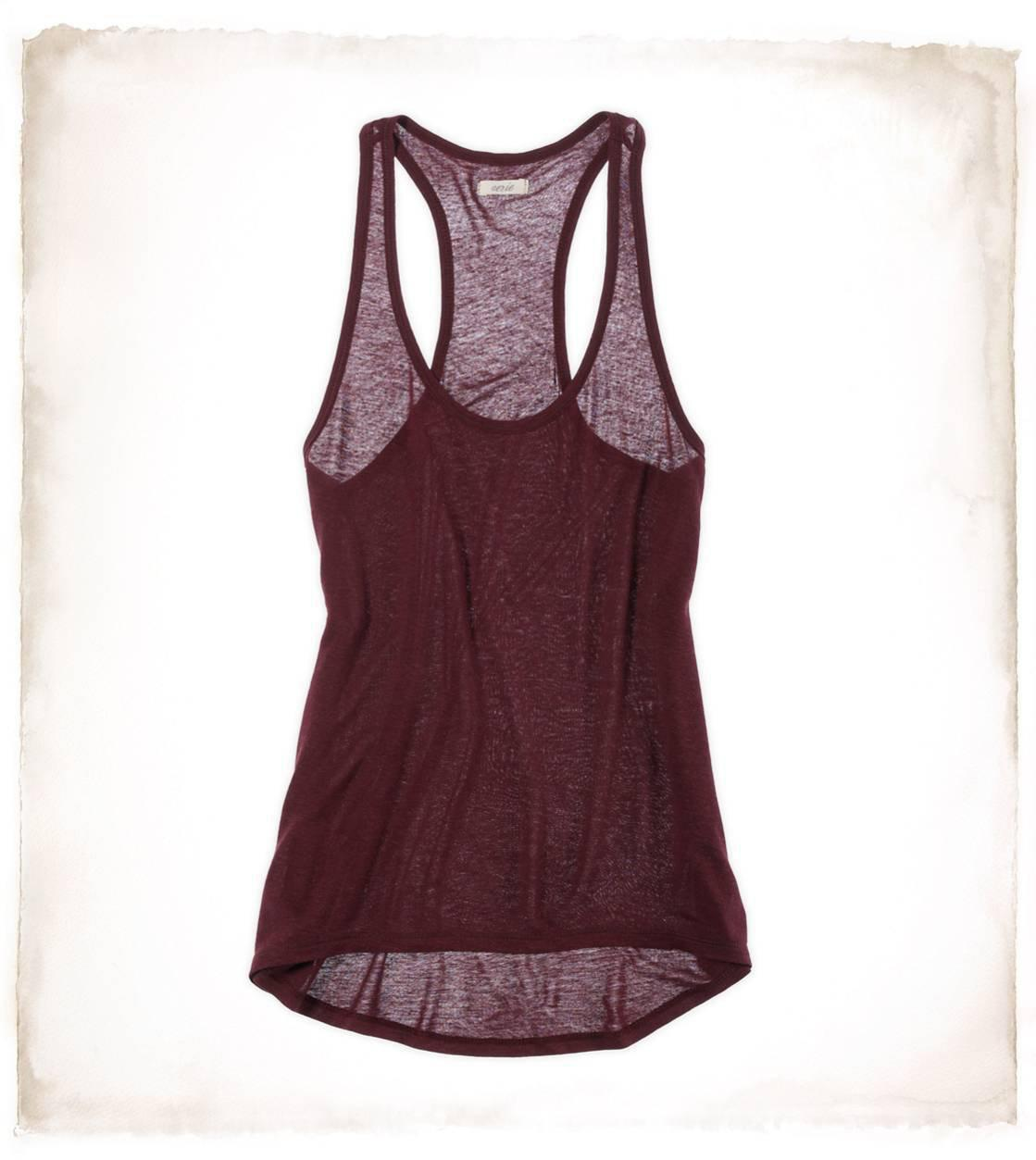 Aerie Drapey Hi Lo Tank | Aerie for American Eagle
