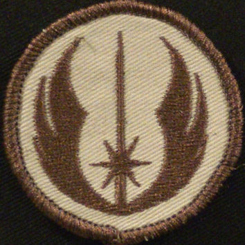 Star Wars Jedi Order custom embroidered military morale velcro patch