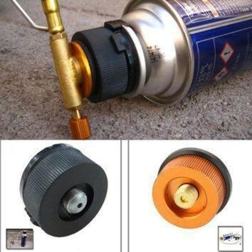 DCCK1IN 2016 hot sale outdoor camping hiking stove adaptor conversion split type gas furnace