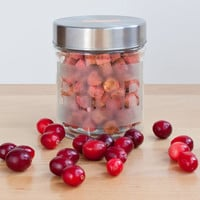Grain Free Cat Treats with Cranberries and Organic Catnip, Urinary Health All Natural Pet Treats, Homemade, comes in Treat Jar, Pet Gift
