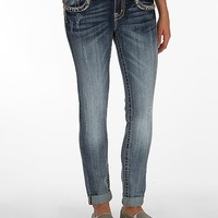 Miss Me Cuffed Ankle Skinny Stretch Jean