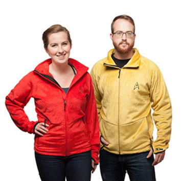 Star Trek TOS Fleece Jackets - Exclusive