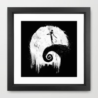 All Hallow's Eve Framed Art Print by Melissa Smith