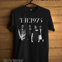 New The 1975 Band Shirt The 1975 T-Shirt Black Printed Unisex Size - NK3