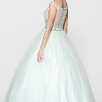 Prom ball gown quinceanera dress BC#cc62153