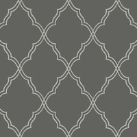 Sample of Lattice Sand Print Wallpaper design by Candice Olson