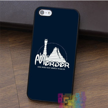 Mordor Lord Of The Rings fashion cell phone case for iphone 4 4s 5 5s 5c SE 6 6s 6 plus 6s plus 7 7 plus #LI2172