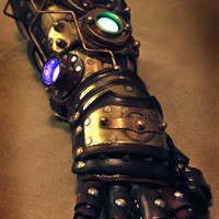 Steampunk Steampunk Gauntlet Armor Custom Made - Other