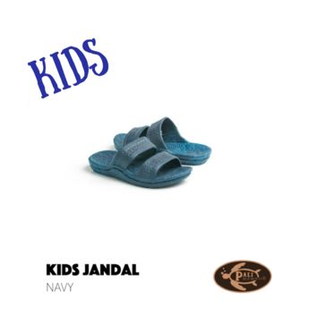 Pali Hawaii Kids Navy Sandals