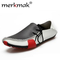 Casual Men Shoes Genuine Leather