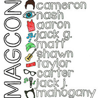 Magcon T-Shirts & Hoodies