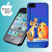 LADY AND TRAMP DISNEY ROMANCE iPhone Case And Samsung Galaxy Case