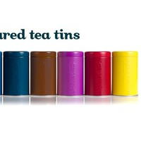 Coloured Tea Tins - Eight Types Of Fun And Bright Tea Tins For Your CupBoard | DavidsTea