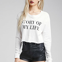 My Life Graphic Pullover