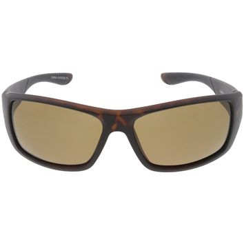 Premium Polarized Sports Wrap Rectangle Sunglasses C794 65mm