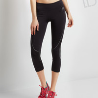 LLD Body-Mapped Crop Leggings