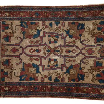 3x3.5 Antique Lilihan Square Rug