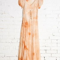 Vintage Peach Party Dress - Urban Outfitters