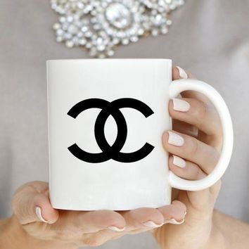 Fashion C Inspired White  Mug