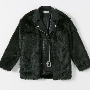 Best Shaggy Faux Fur Coat Products on Wanelo