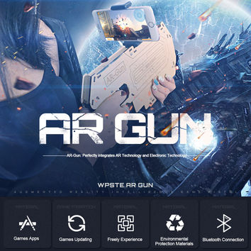 AR Gun™: The Augmented Reality Gun For 3D VR Games