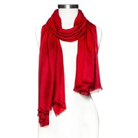 Women's Solid Oblong Scarf