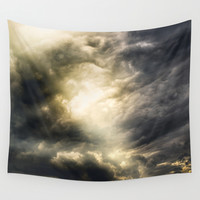 Cloudio Di Porno III Wall Tapestry by HappyMelvin
