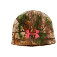 Under Armour Women's UA ColdGear Infrared Scent Control Camo Beanie