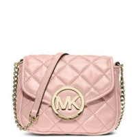 Michael Michael Kors Fulton Small Quilted Leather Crossbody